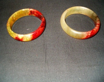 Antique Natural Jade Bracelets
