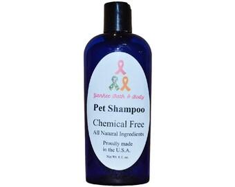 Natural Pet Shampoo Free Shipping