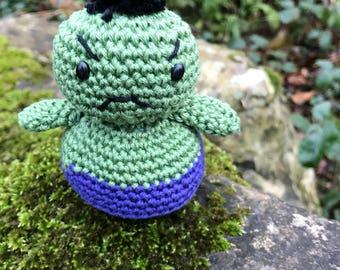 Little Hulk Amigurumi