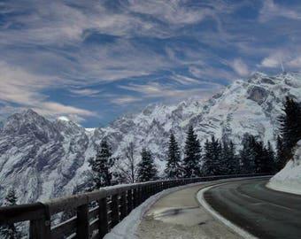 Germany mountain road