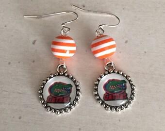Florida Gators earrings