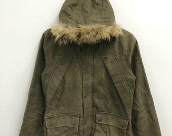 Vintage Katharine Hamnett Hoodie Jacket..Size M