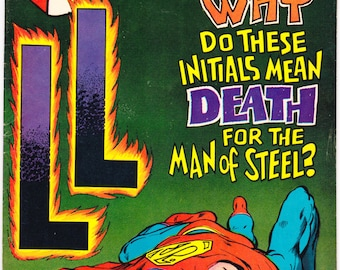 Superman 204, Lois Lane comic, Lana Lang, Lori Lemaris book, Man of Steel, Silver Age, Neal Adams art. 1968  DC Comics in VF (8.0)