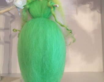 Neo Needle Felted Fairy, Waldorf Inspired Fairy