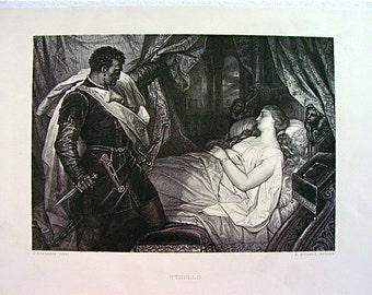 Vintage Print Othello