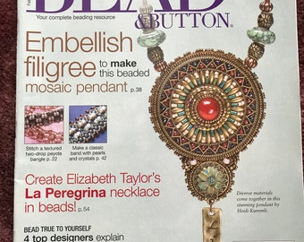 Bead & Button Magazine, February 2013, bead, button, magazine, Issue 113