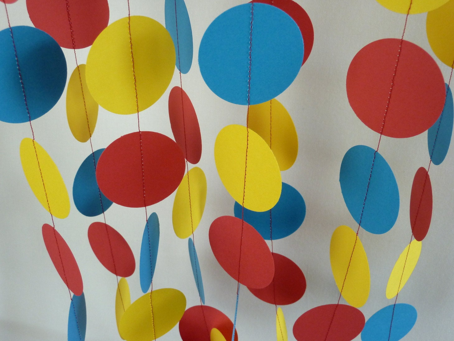 Red Yellow Blue Children\'s Birthday Party Decoration