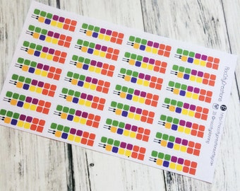 Meal Plan Stickers