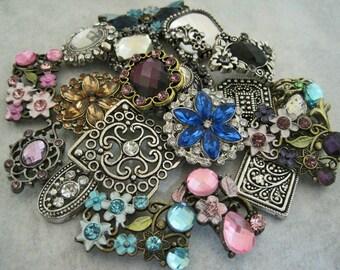 Slider Beads 2 Hole Jewelry Supplies