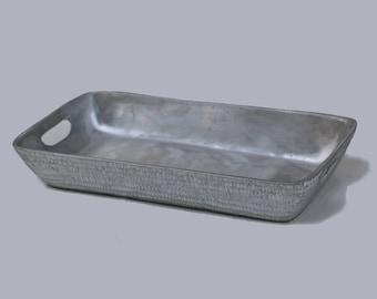 Aluminium Tray - Rectangular Matt