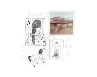 Milk Illustration/Collage