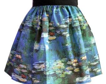 Water Lillies Full Skirt
