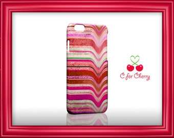 melting stripes red 3D Wrapped Phonecase iPhone X 8 plus 7 plus 6 plus 5s 5c Samsung note S7 S8 S9 plus HTC LG sony Phone Case Cover Skin