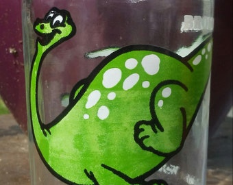 Welch's 1988 Brontosaurus Jelly Jar