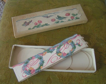Vintage Bon Bon Holders---Fairy Favor Line---New in Original Box---From 1930-40's