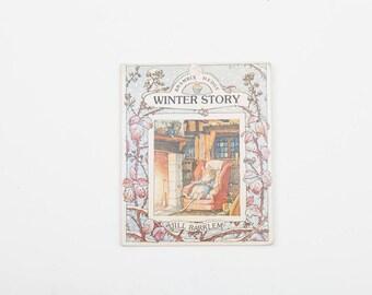 Brambly Hedge Winter Story by Jill Barklem, Vintage Brambly Hedge Story Book, 1987