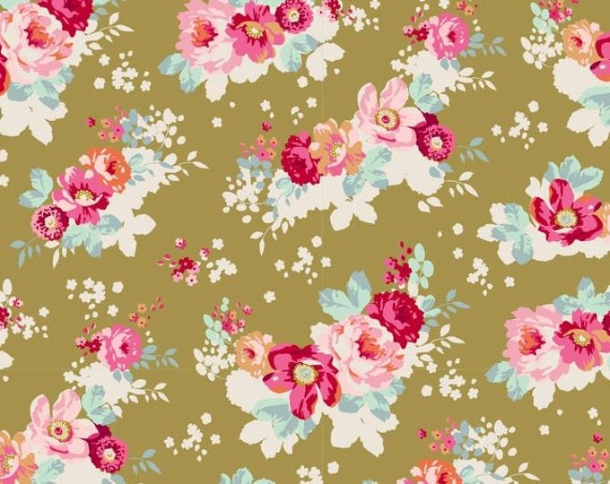 TILDA - Memory Lane Flowercloud Olive