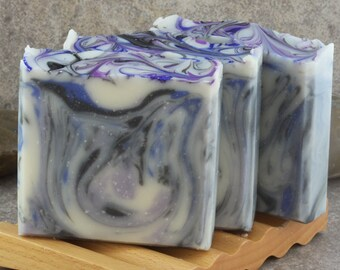 Midnight Storm Handcrafted Bar Soap - Patchouli, Musk
