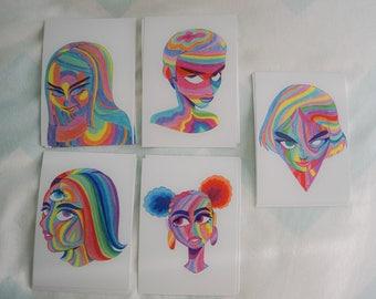 Rainbow Set A