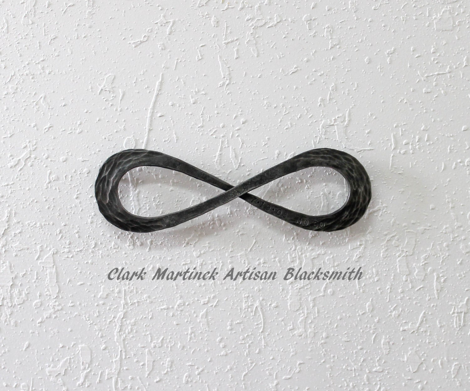 Infinity symbol anniversary gift for years of marriage