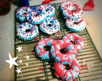 Donut Bath Bomb - 'MERICAN MUSK
