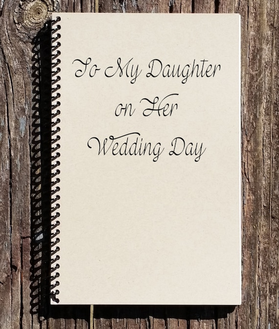 To My Daughter on Her Wedding Day Daughters Wedding Gift