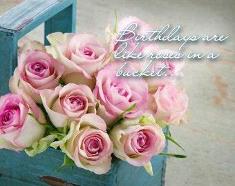 Birthday Card Roses