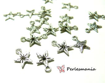 Finish jewelry 20 ref OB4305 stars old silver pendants