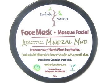Canadian Arctic Mud Face Mask, For Sensitive skin, 100% Natural