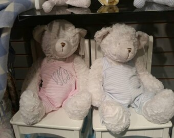 Personalized Plush Bears, Baby Announcement Bear