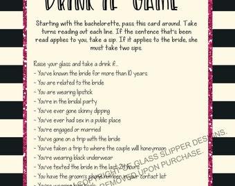 Printable bachelorette game bachelorette drinking game printable bachelorette game bachelorette drinking game bachelorette party game drink if game solutioingenieria Image collections