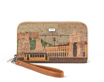 "Cork wallet ""Terreiro"" made in Portugal"