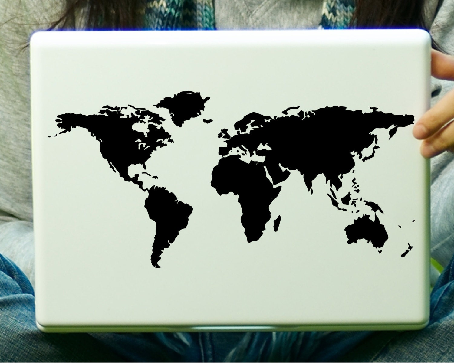 World map laptop decal ipad zoom gumiabroncs Images