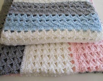 Crochet Patterns, Crochet Baby Blanket Pattern, Crochet Blanket Pattern, Crochet Afghan Pattern, Crochet Throw Blanket, PDF, SLANTED SHELL
