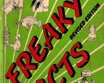 Freaky Facts Revised Edition + Barbara Seuling + 1978 + Vintage Kids Book