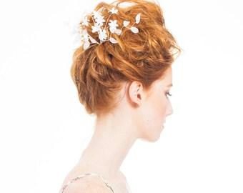 FESTIVAL CAPSULE COLLECTION // Cara flower spray hair pin, festival fashion, hair accessories, boho headpiece