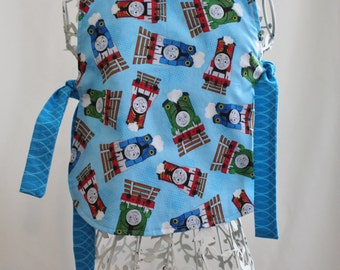 Thomas the Train Toddler Art Smock Apron Bib