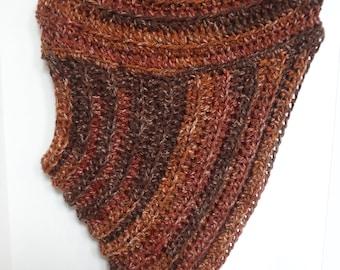 Crossbody Cowl - Huntress Shawl - Katniss Sweater
