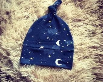 Baby Knoted Hat- Goodnight Moon