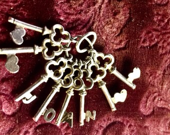 Spring Sale-Keys Name Charm-Joan