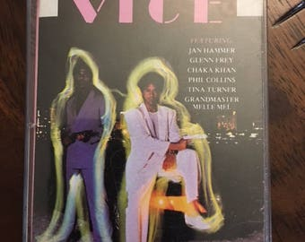 Miami Vice TV Series Cassette Tape All The Hits