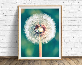 "photography, dandelion, instant download art, printable art, photography, instant download, farmhouse chic, nature -""All the Small Things"""