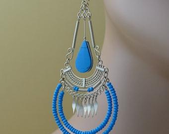 Bohemian Earrings Boho Earrings boho jewelry gift for her dangle earrings tribal earrings gypsy earrings bohemian jewelry gypsy earrings