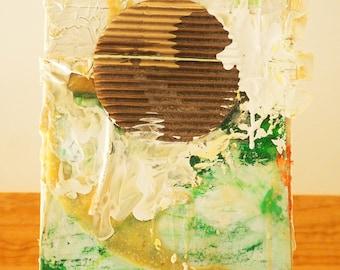 Small Mixed Media on Canvas
