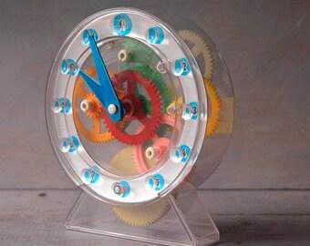Gear Clock Toy