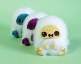 Basic mini dorky monsters - Art Doll
