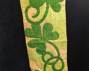 Luck of the Irish, wall hanging or table runner