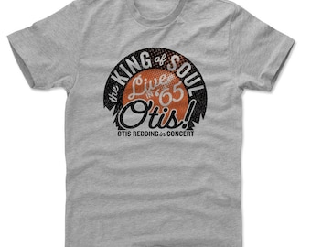 Otis Redding Men's Shirt | Soul Music | Men's Cotton T Shirt | Otis Redding Live O