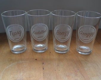 Phish Pint Glass - Set of 4