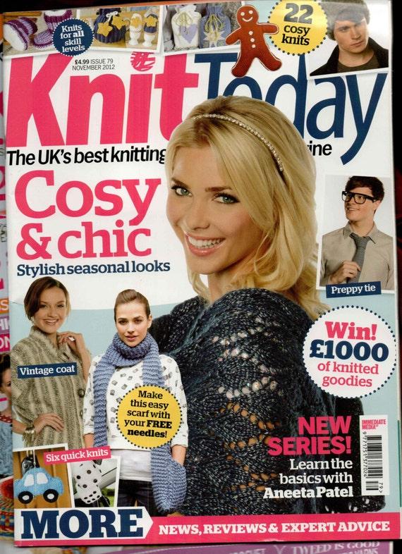 Knit Today Knitting Magazine Issue 70 November 2012